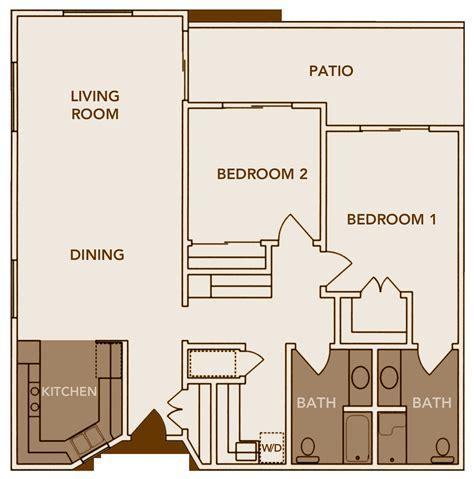 2 Bedroom Cottage Home Plans