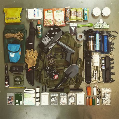 bug out bag list pdf checklist for your bob fight or