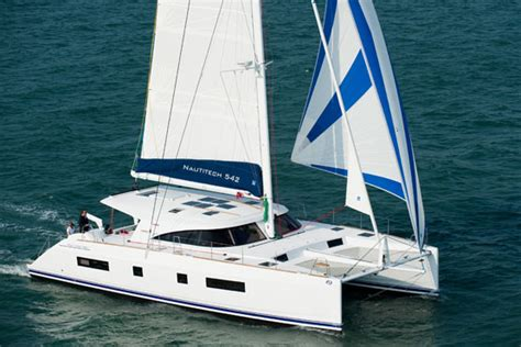 catamaran for sale on west coast the elegant and aesthetic nautitech 542 sailing boat for