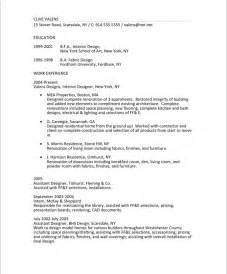 educational background resume sle