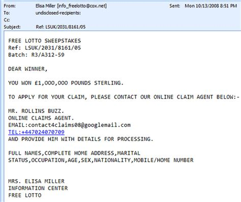 Free Legit Sweepstakes - free lotto sweepstakes scam does anyone really reply to th flickr