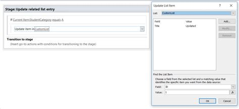 sharepoint designer workflow update list item update list item in sharepoint sharepoint stack exchange