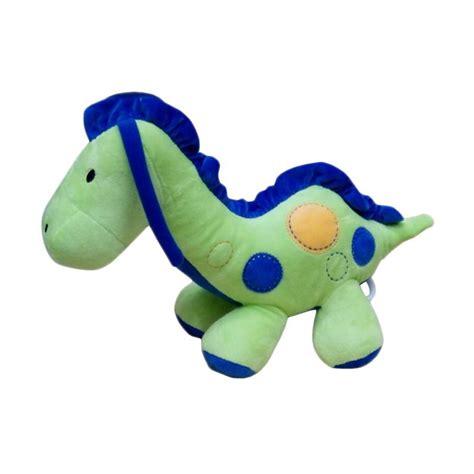 Mainan Tarik Bunyi jual carters motif dino musical boneka tarik mainan bayi hijau biru harga kualitas
