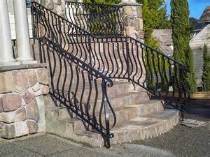 Outdoor Metal Handrail Stairs Awesome Outdoor Stair Railings Exterior Wrought