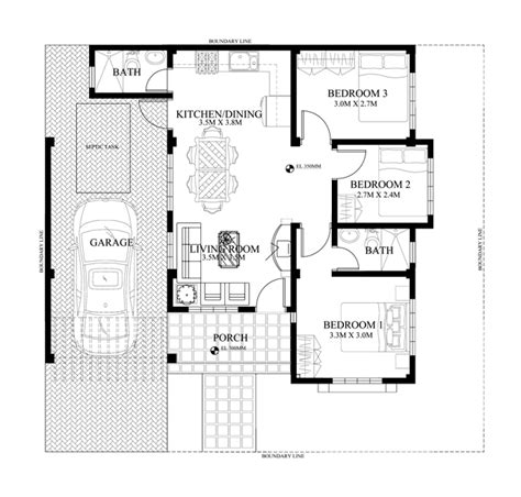 designing a floor plan one storey house design phd 2015005 house designs