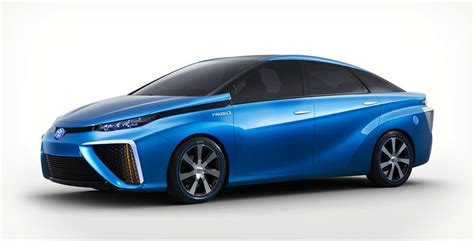 Toyota Fuel Cell Vehicle Toyota S Alternative Fuel Cell Vehicle Cool Material