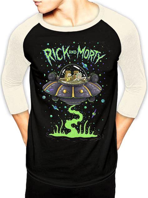 Vest Rompi Rick And Morty rick and morty rick and morty spaceship baseball
