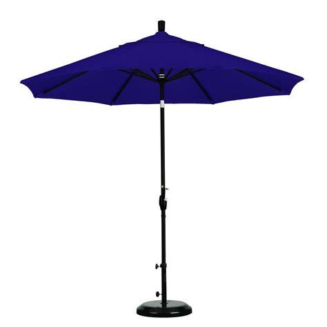 California Patio Umbrellas California Umbrella 9 Ft Aluminum Auto Tilt Patio Umbrella In Tuscan Pacifica Sdau908900 Sa17