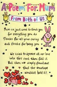 a poem from both of us s day card cards kates