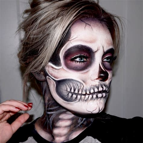 Makeup Sk Ll skeleton skull makeup tutorial skull makeup skeletons