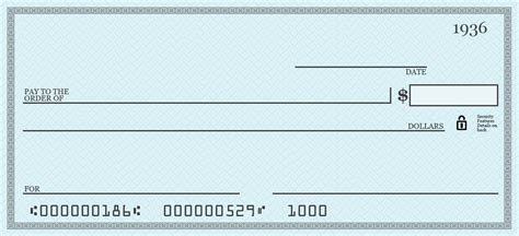 cheque template how do you write a check to pay for something