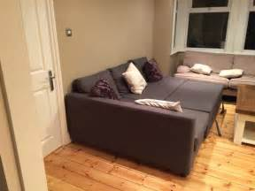 L Shaped Sleeper Sofa by Gray Ikea Friheten Sofa Bed With Chaise Turn Into Real Bed