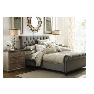 home decorators collection gordon natural king sleigh bed home decorators collection gordon grey king sleigh bed