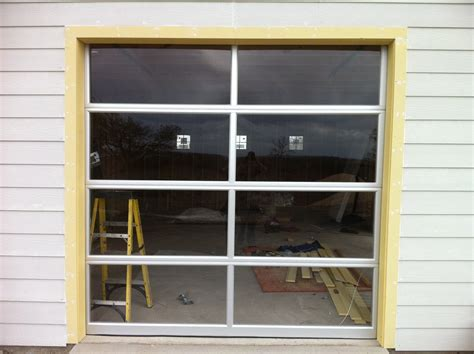 92 glass overhead garage door glass garage doors with passing door view aluminumglass