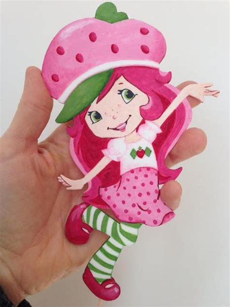 Strawberry Shortcake Cake Decorations by You To See Strawberry Shortcake Cake On Craftsy