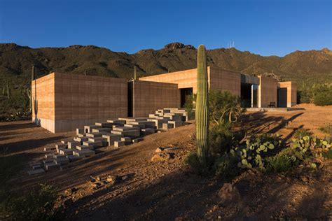 Dust Tucson Mountain Retreat Arizona Architectural Design Tucson