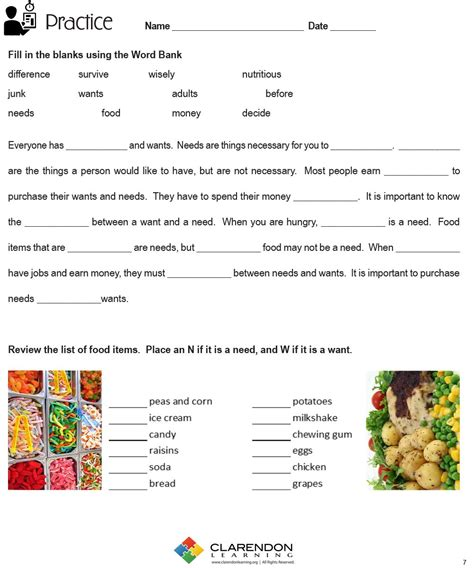Needs And Wants Worksheets by Uncategorized Wants And Needs Worksheets Klimttreeoflife