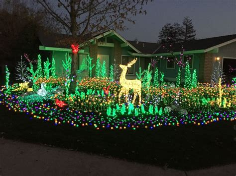 63 best unique christmas light decorations for outdoors