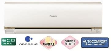 Ac Panasonic Nanoe G 1 Pk www panasonic jakarta panasonic panasonic indonesia