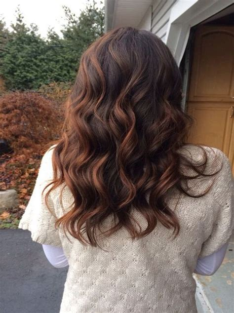 brunette hairstyles for winter 108 best winter fall hair colors 2016 2017 images on