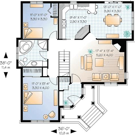 house design pictures pdf two bedrooms with angled entry 21215dr architectural