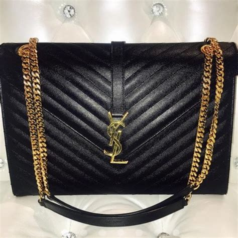 yves saint laurent bags ysl black leather classic