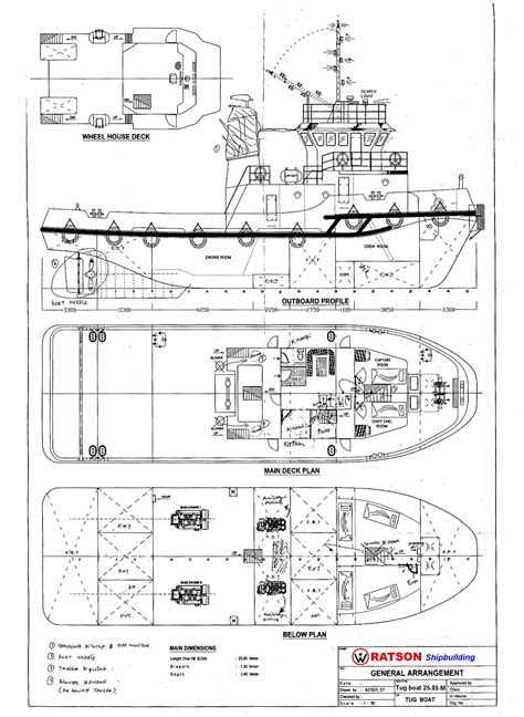 tugboat drawing http www boatdesign net forums attachments boat design