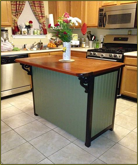 how to make an island for your kitchen build a kitchen island from stock cabinets home design ideas