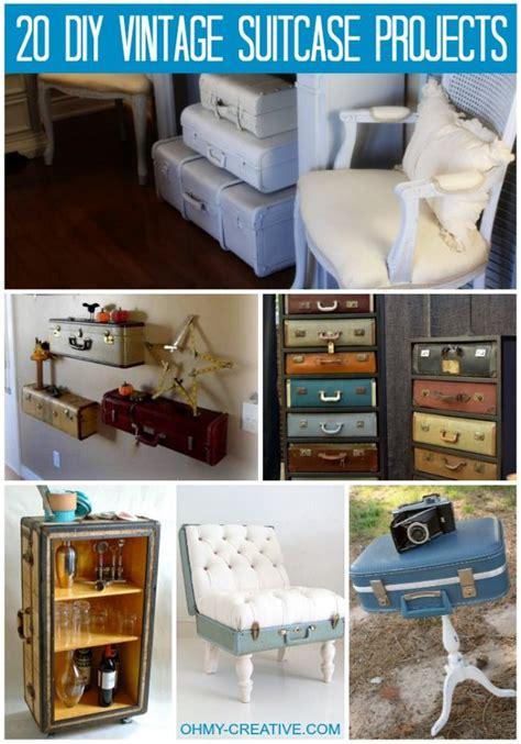 home design hacks 2018 decor hacks 20 diy vintage suitcase projects ohmy creative vintagesuitcase decors