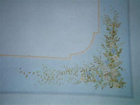 decorazione soffitto decoratore restauratore massimo zaninelli decorazioni