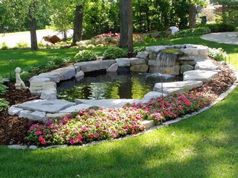 building backyard pond 30 diy garden pond waterfall for your back yard pond