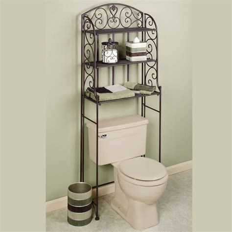 ornate bathroom cabinet ornate wrought iron bathroom cabinet of alluring over the