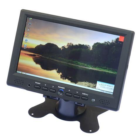 Monitor Lcd Hdmi 7 Inch Led Tft Lcd Monitor Hdmi Monitor Set For Hdmi Microscope Hdmi Vga Av1 Av2 Output