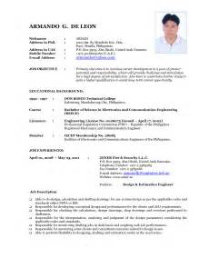 resume format updated resume format 2017 resume format