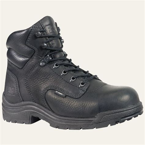 black work boots for timberland pro boots womens titan alloy safety toe black