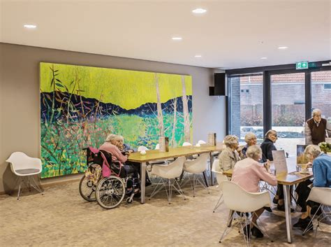 nursing home interior design project of the week willibrord nursing home sbid