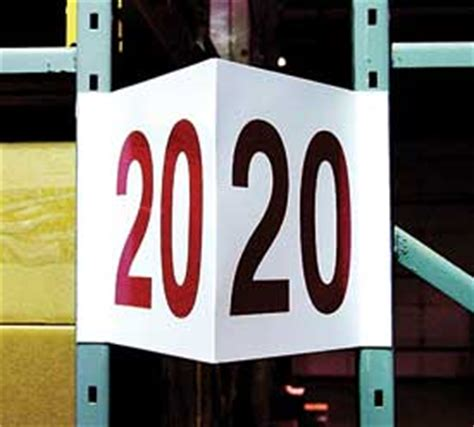 Rack End Symptoms by Warehouse Signs End Of Rack Signs