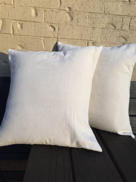 Canvas Pillow Cover by Blank Canvas Pillow Cover Blank Pillow Cover Throw Pillow