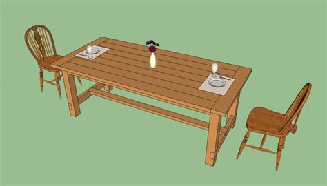 how to build a farmhouse table plans how to build a farmhouse table howtospecialist how to
