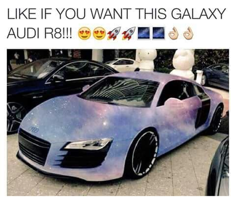 galaxy audi r8 galaxy audi r8 image 3089256 by rayman on favim com