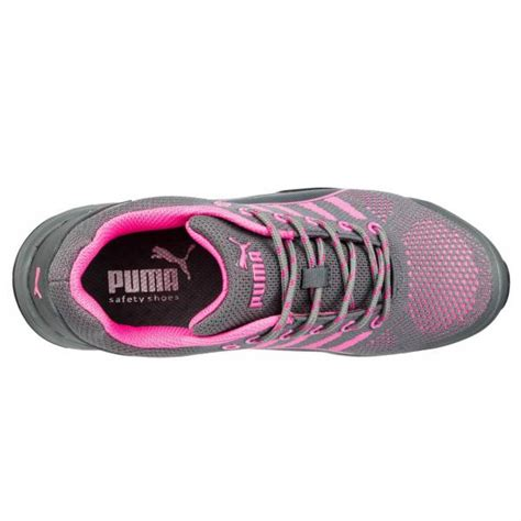 puma celerity knit pink puma damen sicherheitsschuh celerity knit pink wns low s1