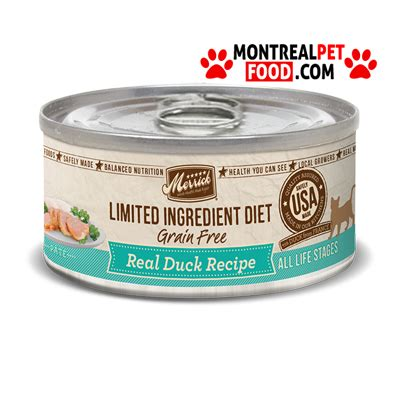 merrick canned food merrick canned cat food lid duck montreal pet food