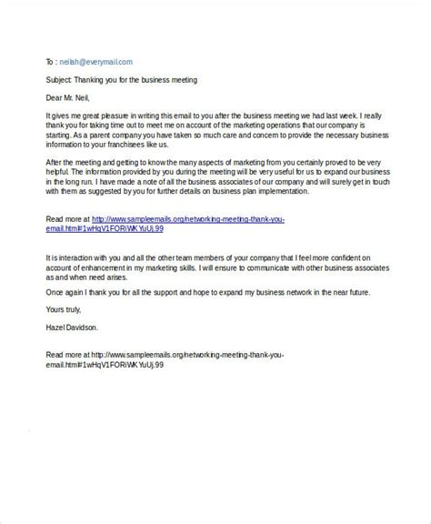 thank you letter after meeting employer thank you email after business meeting pacq co