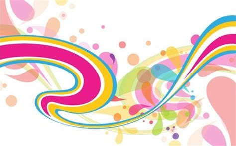 abstract colorful vector background over millions