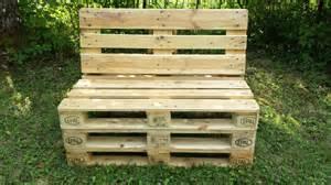 banc en bois de palette mzaol