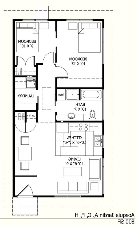 800 sq ft house plans home design angamaly 5 cents plot and 800 sq ft very low
