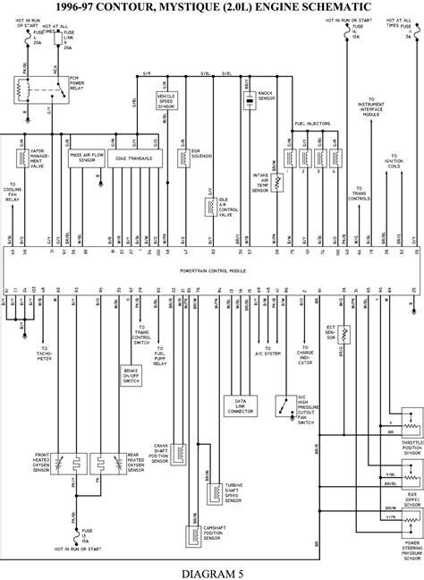 1998 ford contour wiring diagram ke light wiring diagram for 1998 ford contour get free