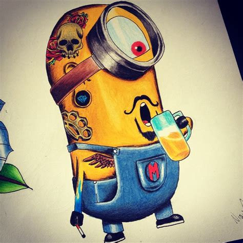 minion tattoo by nighttattoo on deviantart