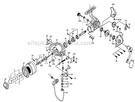 penn reel diagrams penn cv6000 parts list and diagram ereplacementparts