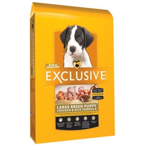 what is the best large breed puppy food exclusive chicken rice formula large breed puppy food standley feed and seed